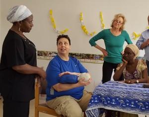 health team in Senegal